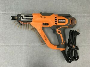 Ridgid R6791 3 In Drywall And Deck Collated Screwdriver Pre owned Free S h