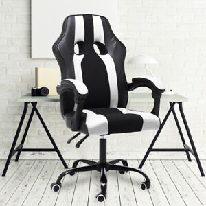 Ergonomic Office Gaming Chair Swivel Computer Desk Seat Recliner Task Chairs Us