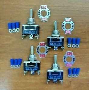 4 Bbt 3 Position Momentary Toggle Switches W Terminals