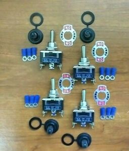 4 Bbt Waterproof 3 Position Momentary Toggle Switches W terminals