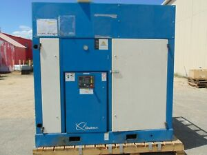 100 Hp Industrial Quincy Rotary Screw Air Compressor 450 Cfm