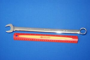New Snap On 15 16 12 Point Sae Flank Drive Long Combination Wrench Oexl30b