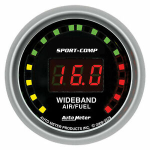 Autometer 3379 Sport Comp Wideband Air Fuel Ratio Gauge 2 1 16 In Electrical