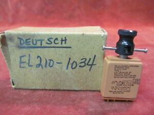 New Old Stock Deutsch 10a Latching Relay El210 1034 2pdt