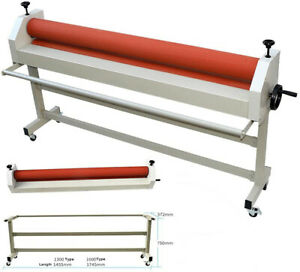 63 Inch Cold Laminating Machine Stand Large Vinyl Photo Film Cold Roll Laminator