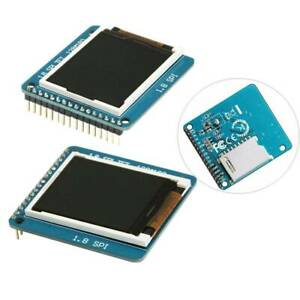 1 8 Serial Tft Spi St7735r 128 160 Lcd Display Module With Pcb