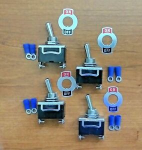 4 Bbt 2 Position 20 Amp Toggle Switches W Terminals