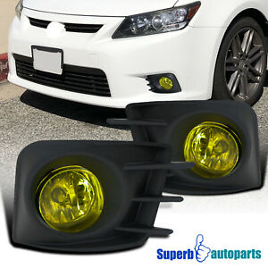 For 2011 2013 Scion Tc Bumper Lights Driving Fog Lamps W Cover Switch