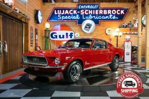 1968 Ford Mustang Fastback Texas Lived Original 1967 1969 289 302 351 Gt Shelby Elite Marti Report