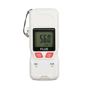 Flus Usb Humidity And Temperature Data Logger Recorder With Lcd Screen L6z0