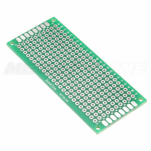 3x7 Cm Double Sided Diy Prototyping Circuit Breadboard Pcb Arduino Usa Seller