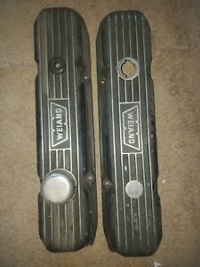 Weiand Valve Covers Dodge Plymouth Mopar 361 383 400 413 426 440 Chrysler