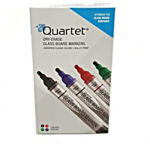 Dry eraser Glass Board Markers 4 Piece 79552 Assorted