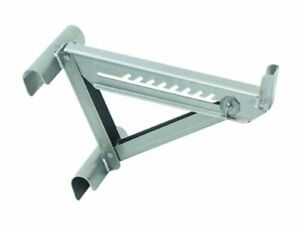 2420 Two rung Short Body Ladder Jack Silver