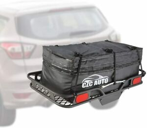 Expandable Hitch Cargo Carrier Bag 9 5 Cu Ft Extends To 11 6 Cu Ft Waterproof