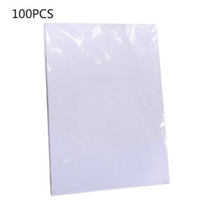 100x White Sheets A4 Heat Toner Transfer Paper For Diy Pcb Electronic Prototype