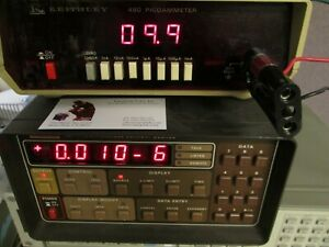 Keithley 480 Dc Picoammeter Tested 0 01na To 1ma
