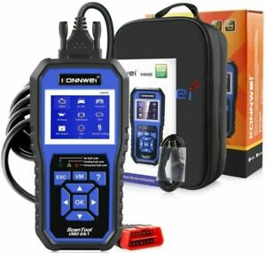 Konnwei Kw450 All System Obd2 Scanner With 11 Special Functions For Vag 2021 New