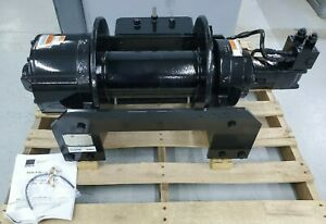 New Dp Manufacturing Hydraulic Cable Winch 35 000 Lb 53199 001