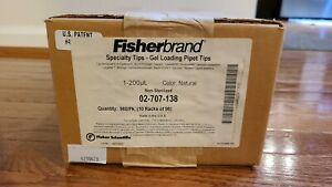 Fisherbrand 02 707 138 Specialty Tips Gel Loading Pipet Tips 1 200ul