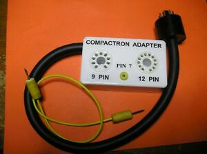 All Tv 7 Series Tube Testers Compactron Tube Adapter new W Data Sheet