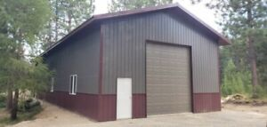 Pole Barn Kit complete 30 x40 x12 Premium Materials Delivery Available