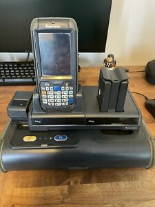 Intermec Cn70 Moblie Handheld Computer With Pw50 Direct Thermal Printer Dock
