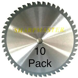 48 40 4515 8 42 Tooth Dry Cut Cermet Tipped Metal Cutting Saw Blade 10pack