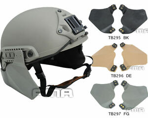 New Emerson helmet Side Protective Face Cover Survive Ear Protection Rail Kit $11.84