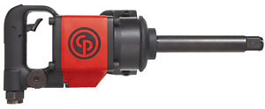 Chicago Pneumatic D Handle 1 Air Impact Socket Wrench With 6 Extended Anvil
