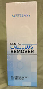 Meeteasy Electric Sonic Dental Calculus Plaque Remover Tool Kit