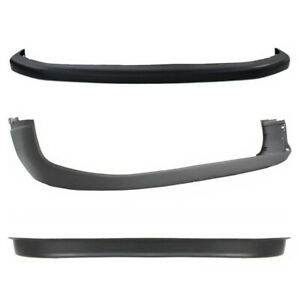 3pc Front Bumper Cover Valance Combo Kit For 1994 2002 Dodge Ram 1500 2500 3500