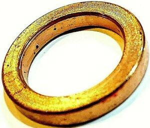 2 pack 1 Inch 20mm Brass Ring Adapter Reducer Bushing For Diamond Saw Blades