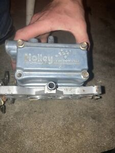 Holley 750 Double Pumper Dual Feed Race Ready