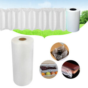 3000pcs Air Cushion Film Inflatable Packaging Film Cushioning Roll Wrap Us Stock
