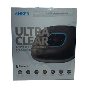 Anker Ultra Clear Portable Bluetooth Conference Speakerphone A3301z11 New Sealed