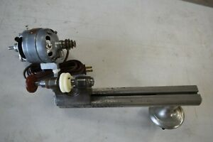 Marco Ww Style Jewelers Lathe With Headstock Motor And Bench Mount Attachment