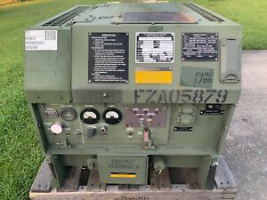 2003 3kw Fermont Mep 831a Military Diesel Generator Only 9 Hours