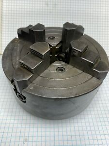 Authentic South Bend Lathe 9 10k 4 Jaw Chuck 6