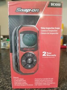 Snap On Tools Hand Held Video Inspection Scope Bk3000 Brand New Free Ups