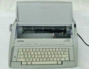 Brother Gx 6750 Correction Electronic Typewritter W keycover Tested