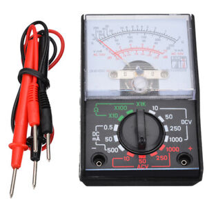 Usa Electrical Analogue Multimeter Ac Dc Volts Ohm Circuit Multi Tester Meter