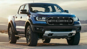 2019 2020 2021 Ford Ranger Raptor Style Matte Black Front Grille Replacement