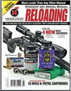 HODGDON ANNUAL RELOADING MANUAL 2021 SOFTCOVER NEW FREE SHIP $15.99