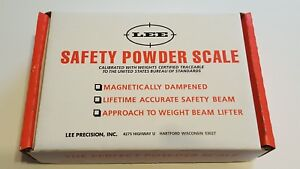 90681 LEE SAFETY POWDER SCALE BRAND NEW FREE SHIP $47.99