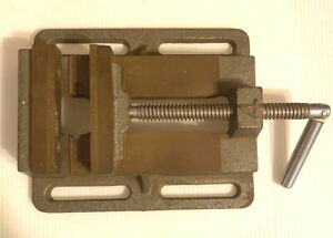 7 3 4 Mill Milling Machinist Vise Jaws Open 4 7 8 Excellent Condition
