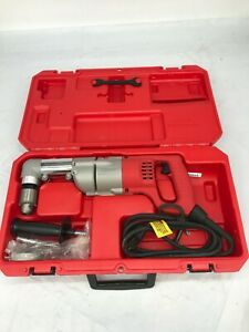 Milwaukee 3107 6 7amp 1 2 Corded Heavy Right angle Drill Kit Gr