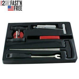 Car Auto Window Glass Removal Windshield Removal Set Tool Disassembly Device Us