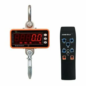 Crane Scale 1000kg Digital Electronic Heavy Duty Industrial With Remote Control