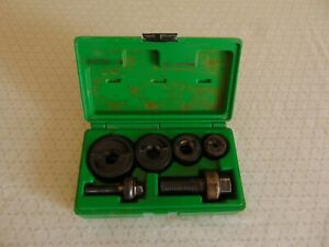 Greenlee 7235bb Knock Out Punch Set